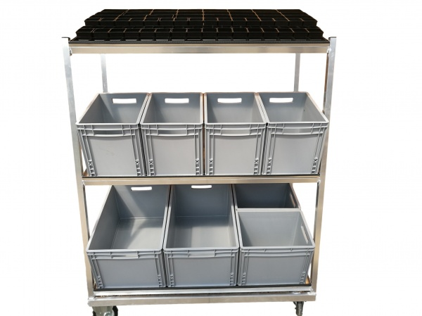 Aluminium-Lagerwagen
