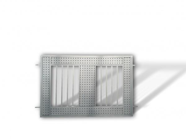 individueller Aluminiumzaun